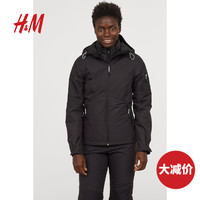 HM 女装运动外套 防风疏水透气保暖滑雪夹克 0501915