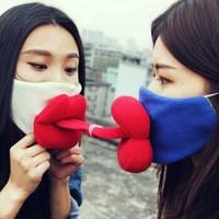 手乐活SOLOHO-情感手工创意包-亲亲情侣口罩