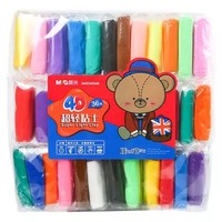 M&G 晨光 AKE04544 4D超轻黏土 36色袋装 *5件+凑单品