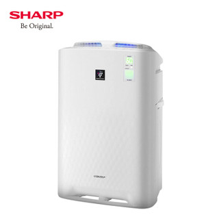 夏普(Sharp)空气净化器 净化除菌加湿 空气质量实时监控 清除甲醛雾霾 异味 花粉二手烟KC-BB60-W1