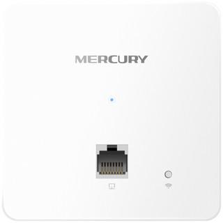 水星(MERCURY) 1200M双频无线面板式AP 千兆端口 支持POE供电MIAP1200GP