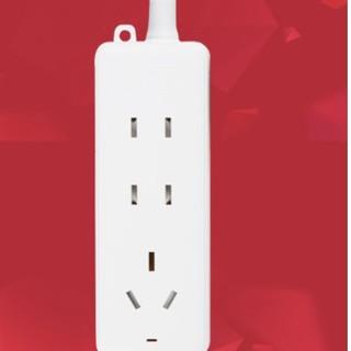 欧普照明 插线板 三位一米 基础款