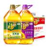 福临门 食用油套装 黄金产地玉米油3.68L+葵花籽油3.68L