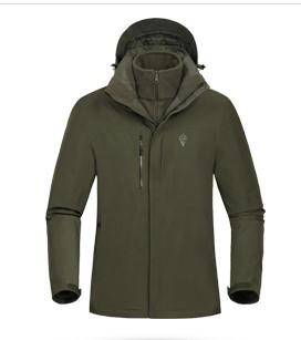 NORTHLAND 诺诗兰 GORE-TEX 男士风衣 GS065507 橄榄绿 M