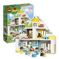 11日0点、黑卡会员:LEGO 乐高  得宝系列 10929 梦想之家