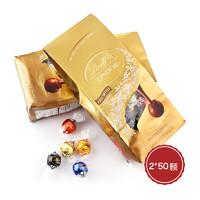 Lindt 瑞士莲 软心松露巧克力 600克*2袋 (约50颗/袋)