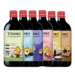 通化微气泡葡萄酒露酒 7%VOL 500ml*6整箱装苏格拉宁定制款起泡酒 *2件