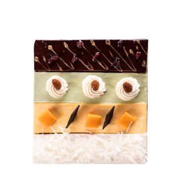 京东PLUS会员 : Best Cake 贝思客 许愿天使 芝士宫格蛋糕 450g