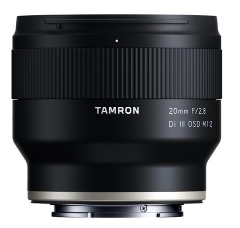 TAMRON 腾龙 F050 20mm F2.8 Di III OSD M1:2 超广角定焦镜头