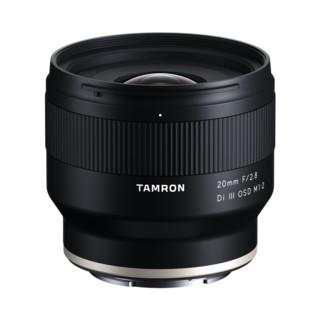 TAMRON 腾龙 20mm F/2.8 Di III OSD M1:2 全画幅 超广角 定焦镜头 索尼E卡口