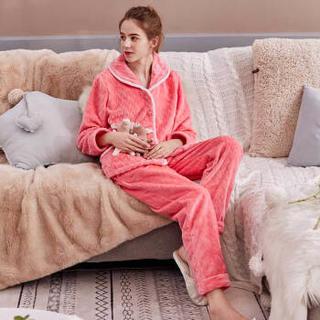 FENTENG 芬腾 女士珊瑚绒睡衣套装