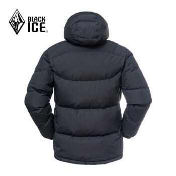 BLACK ICE 黑冰 F8509 天枢 PLUS 700蓬 男女款鹅绒服 黑色 M
