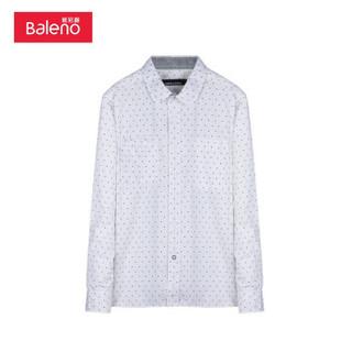 Baleno 班尼路 28534510 男士长袖衬衫
