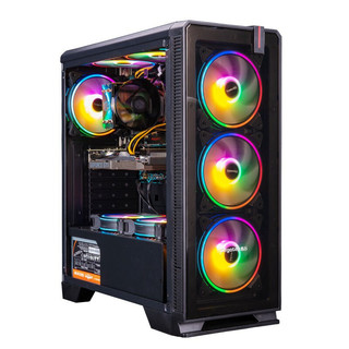 京天华盛 家用电脑主机(i5-9400F、8GB、256GB、GTX1660 Super)