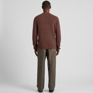 UNIQLO 优衣库 421261 男装3D柔软纯羊毛针织衫