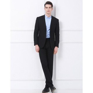 相思鸟 GOX011S 男士平驳领西服套装(西服+西裤)