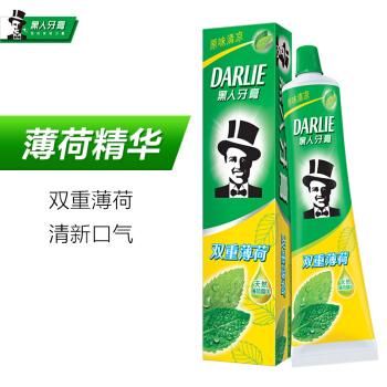 DARLIE 黑人 双重薄荷 牙膏 175g