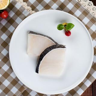 我爱渔 冷冻新西兰银鳕鱼块 250g