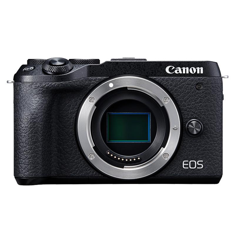 百亿补贴 : Canon 佳能 EOS M6 Mark II 无反相机 拆单机