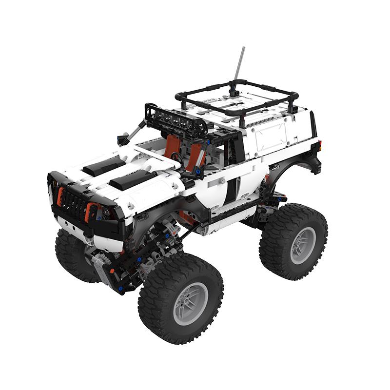 MI 小米 赛车系列 YYSQC01IQI 智能积木 越野四驱车 白色