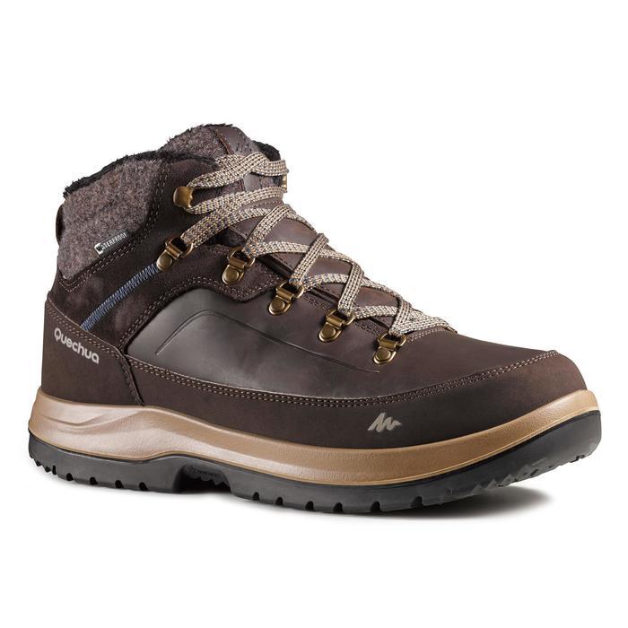 DECATHLON 迪卡侬 SH500 X-Warm 男士徒步鞋 143766 咖啡色/褐色/黑色 39