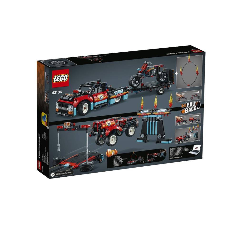 考拉海购黑卡会员 : LEGO 乐高 机械组系列 42106 特技表演卡车和摩托车 *3件