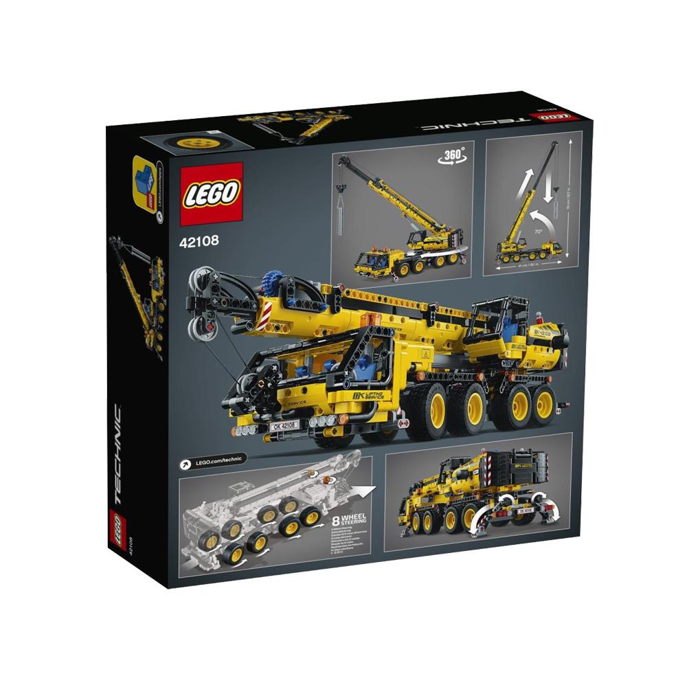 LEGO 乐高 机械组系列 42108 移动起重机