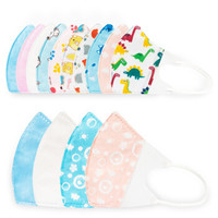 Newbee house 诺伯豪斯 婴儿口罩儿童小孩一次性 独立包装6款共30枚套装 XS