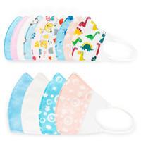 Newbee house 诺伯豪斯 婴儿口罩儿童小孩一次性 独立包装6款共30枚套装 S