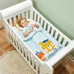 gb HOME gb好孩子婴儿毛毯新生儿空调盖毯儿童超柔毛毯幼儿园抱毯春夏薄款