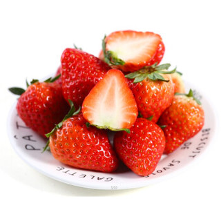 云依禾农庄 红颜奶油草莓 500g