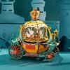 Robotime 若态 AM41 圣诞小镇音乐盒 南瓜车的约定