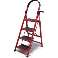 工来工往 高扶手四步钢梯