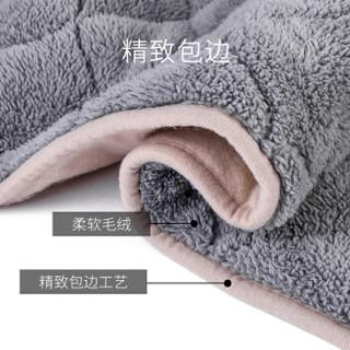 南极人 NanJiren 180*150cm长毛绒除螨电热毯 智能调温自动断电定时功能电褥子 加大加厚安全家用 双人双控款