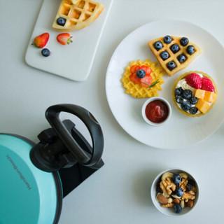 汉美驰(Hamilton Beach)电饼铛双面加热家用多功能轻食机早餐机华夫饼机26090B-CN