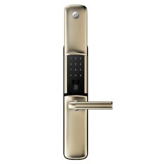 德施曼(DESSMANN) K88-J 星夜金小嘀指纹锁 家用防盗门智能家居云智能锁电子密码智能门锁
