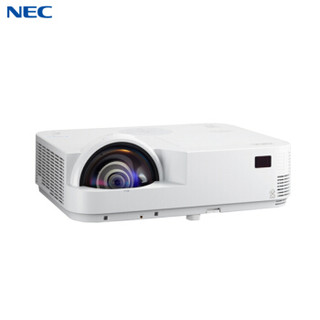 NEC NP-M323HS+ 投影仪 投影机 商用 办公(3200流明 含100英16:10寸电动幕布 免费上门安装)