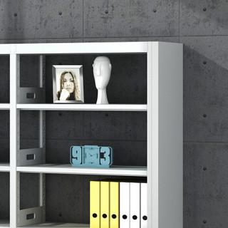 欧宝美钢制书架展示架样品架储物架单面六层一列五组