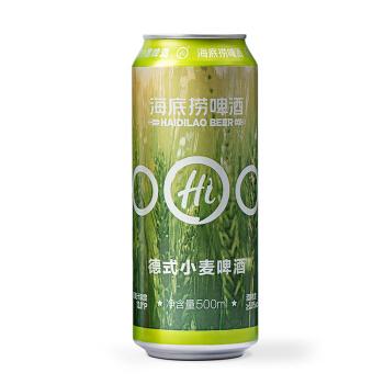 海底捞 德式小麦精酿啤酒 500ml*12罐