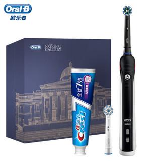 欧乐B(Oral-B)电动牙刷博物馆礼盒 P2000黑色