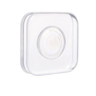 特然  纳米黑科技手机支架 抖音同款无痕车载支架懒人支架可水洗镜面桌面墙面随意贴 集线收纳款 透明方形