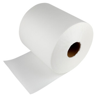赛拓(SANTO)大卷工业擦拭纸 卷筒擦拭纸吸油纸 静电除尘纸无尘纸工业无尘擦拭纸洁净纸 500张/卷 白色7065