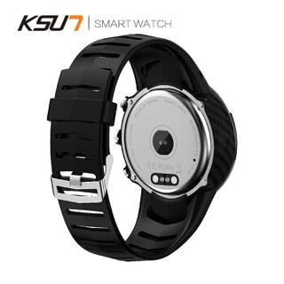 KSUN步讯智能手表多功能检测血压心率睡眠原装正品IP68防水感应黑科技定位运动监控适用小米华为荣耀苹果R904