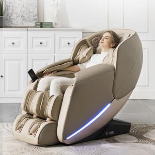 芝华仕CHEERS M1040 按摩椅全自动太空舱多功能  卡其色
