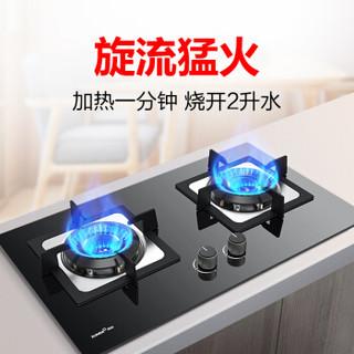 迅达(XUNDA)燃气灶具 台式嵌入式煤气灶液化气灶家用旋流猛火 DS502(液化气)