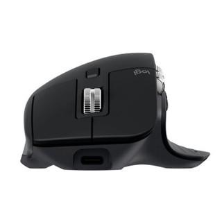 Logitech 罗技 MX Master 3 2.4G蓝牙 无线双模鼠标 4000DPI 石墨黑
