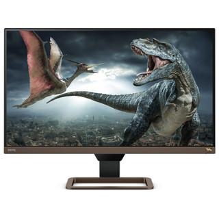 明基(BenQ) EW2780U 27英寸4K IPS HDR 99%sRGB环绕音箱可壁挂 电脑/PS4显示器(HDMI/DP/Type-C可充电)