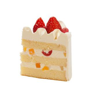 味多美(Wedome)经典100%蛋糕 15cm 生日蛋糕 同城配送北京