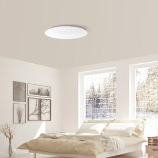 Yeelight皎月智能LED纯白吸顶灯升级版米家和苹果HomeKit智能调光客厅卧室吸顶灯现代简约餐厅灯具北欧灯饰