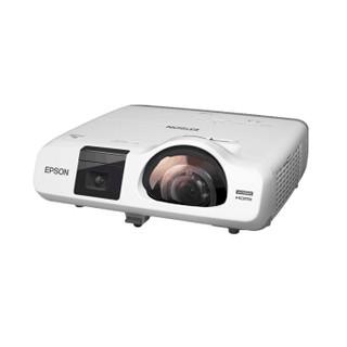 爱普生(EPSON)CB-536Wi 投影仪 投影机 商用 办公(含100英寸16:10电动遥控幕布 3400流明 免费上门安装 )